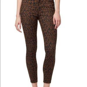 santuary Pants & Jumpsuits - Sanctuary Leopard twill pants 27